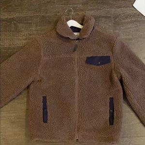Goodfellow Co Medium Brown Fleece Sherpa Jacket